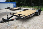 2018 Sure-Trac Implement 18ft Steel Equipment Trailer