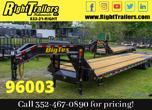 2021 8.5x40 Big Tex Gooseneck Equipment Trailer  for Sale