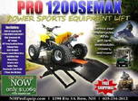 PRO 1200SEMAX Motorcycle Lift Table Package  for sale $1,069