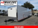 2021 Vintage Trailers 34ft Bath Package Car / Racing Trailer for Sale $35,999