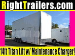 IN STOCK ELKHART, in 26' Team Spirit Stacker w/ 6k Axl