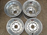 "Weld 10"" Micro Racing Wheels  for sale $200"