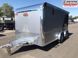 2019 Sundowner Trailers 7.5X14 Motorcycle Trailer....STOCK#