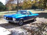1972 Chevrolet El Camino  for sale $7,500