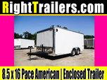 8.5x16 Pace American | Car Hauler