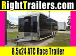 8.5x24 ATC Trailers | Car Hauler  for sale $20,299