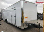 2019 United Trailers 8.5X28 EXTRA HEIGHT Car / Racing Traile