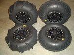 UTV / ATV Sand tires with aluminum wheels  for sale $500