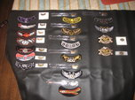HARLEY (HOG) PATCHES AN PINS 14 YEARS OF   for sale $250