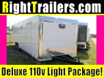 30' Vintage Race Trailer w/ Tandem Torsion Axles