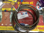 -4 Braided Stainless Hose complete with fittings   for sale $40