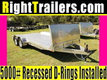 "18"" ATC Trailers Car Hauler w/ Gravel Guard"