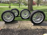 "Mustang 19"" staggered Track Pack wheels and tires.  for sale $900"