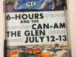 Original 1969 Watkins Glen Race Event Poster  for sale $40