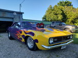 68 Camaro Pro Street/Drag/Show Car   for sale $30,000
