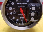 Auto Meter #3966 Playback Tachometer Tach  for sale $225