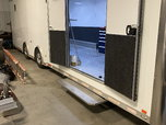 2014 Intech Icon 31 foot all alum tag trailer loaded