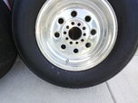 Drag Wheels and Tires  for sale $350