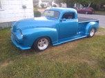 "Beautiful 1950 Chevy Custom Truck, Chopped 3"" Great Job"