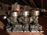 SBC Tri Power Setup Comple gasser ratrod prostreet  for sale $1,250