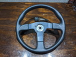 Grand Steering wheel + Quick release - $75  for sale $75