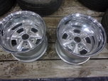 2 NEW 15X10 CHROME SPOKE MAGS  for sale $300