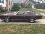 1971 Chevrolet Monte Carlo  for sale $14,500