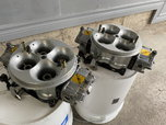 Dyno Used Only  Pair of DAMBEST Billet Body Race Carbs  for sale $2,000