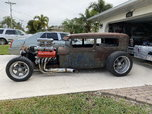 Supercharged 572 1928 Ford Sedan Rat Rod  for sale $36,500