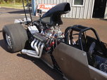 2014 Precision Chassis Top Dragster