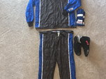racing suit complete minus helmet  for sale $800