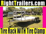 18' ATC All Aluminum Car Hauler w/ Beavertail