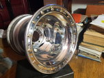 Wide 5 wheels,double bead lock,16x16,5 in bs  for sale $600