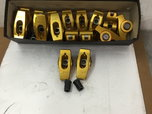 USED SET OF CRANE BB CHEVY GOLD ROCKER ARMS for Sale $200