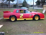 Asphalt Super Stock race car