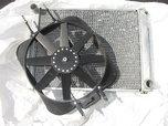 Aluminum Radiator&Fan  for sale $180