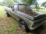 1976 Ford F-100  for sale $2,499