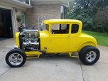 1930 FORD 5/WINDOW COUPE