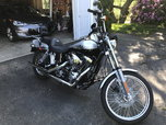 Harley wide glide Annv.  for sale $7,995
