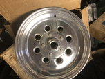 "New weld 15""x 3.5"" spindle Mount wheels  for sale $500"