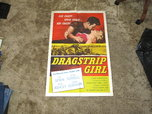 Dragstrip Girl 1957 Teen Hot Rod Bad Girl Bad Boy Juvenile D  for sale $550