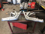 """NEW 1 7/8"""" SBC Coated roadster headers  for sale $350"""