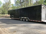 38' enclosed with aluminum ramp overs