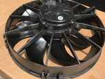 (2) Two Spal HO (1870 CFM EACH) Puller Fans   for sale $350