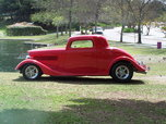 1934 Ford 3 Window  for sale $65,000