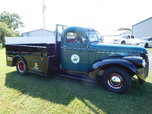 1947 GMC CUSTOM TRUCK!!! SIT UP FOR A GOOSE NECK TRAILER!!!
