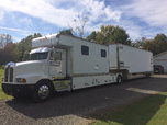 1991 kenworth and renegade 3 car stacker  for sale $65,000