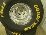 Mickey Thompson Rims and Goodyear Slick Tires  for sale $1,300