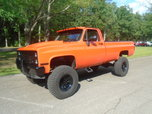 1986 chevy 4x4 restored!  for sale $15,900