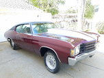 1972 chevelle drag car or pro street-roller  for sale $22,500